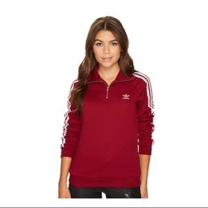 Collegiate [Adidas] Originals 3/4 Sweatshirt - XS